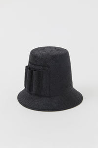 PALOMA BLACK VISCOSE HAT