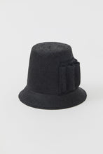 Load image into Gallery viewer, PALOMA BLACK VISCOSE HAT