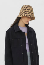 Load image into Gallery viewer, RENATA BLACK & BROWN ANIMALIER HAT