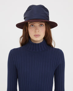 EUGENIA MIDNIGHT BLUE HAT