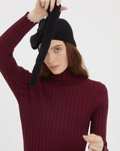 Load image into Gallery viewer, ATENA BLACK CASHMERE HAT