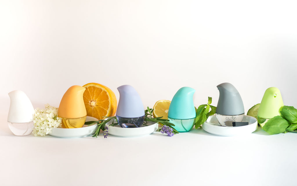 OLIKA product lineup with ingredients