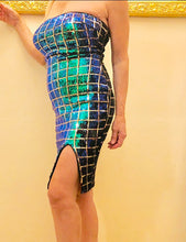 Load image into Gallery viewer, Women's Green Sequin Dress