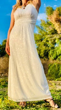 Load image into Gallery viewer, Woman's Long White Dress