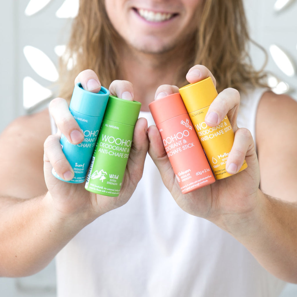 How does natural deodorant work