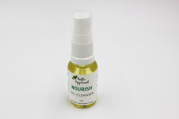 Step 1 - Nourish Oil Cleanser