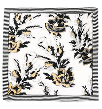 Load image into Gallery viewer, Fleur Silk Scarf - Ivory