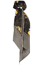 Load image into Gallery viewer, Fiona Silk Scarf - Black