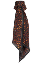 Load image into Gallery viewer, Celeste Silk Scarf - Rust