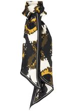 Load image into Gallery viewer, Solange Silk Scarf - Olive