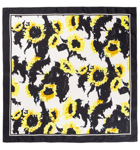 Sophie Silk Scarf - Yellow