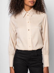 Simone Blouse - Powder
