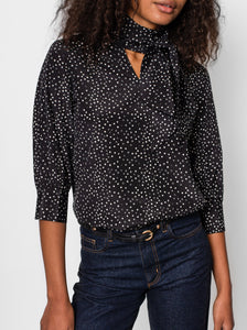 Marine Blouse - Black