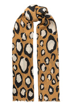 Load image into Gallery viewer, Lea wool scarf - Camel