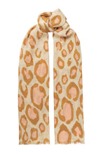 Load image into Gallery viewer, Lea wool scarf - White Sand
