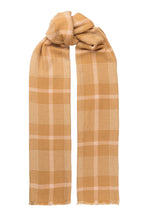 Load image into Gallery viewer, Jojo wool scarf - Camel