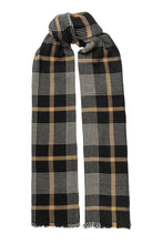 Load image into Gallery viewer, Jojo wool scarf - Black