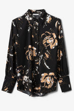 Load image into Gallery viewer, Rose Blouse - Black