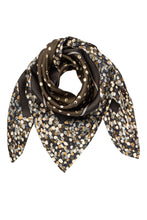 Load image into Gallery viewer, Clemence Silk Scarf - Olive