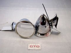 Complete Unbranded Chrome Wing Mirrors