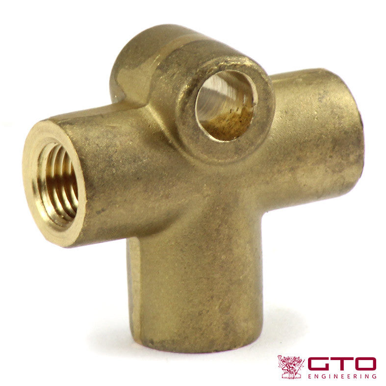 Brake Pipe T Connector 250