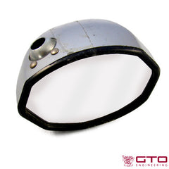 Complete Gray Plastic Wing Mirror