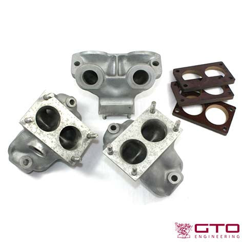 Inlet Manifold Early 3-Carb [46DCF] 250