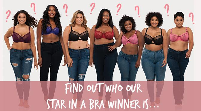 Find Out Who Our Star in a Bra Winner is...