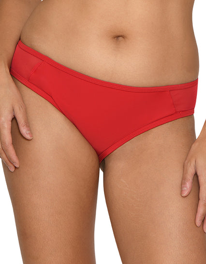 Curvy Kate Sheer Class Mini Brief Red