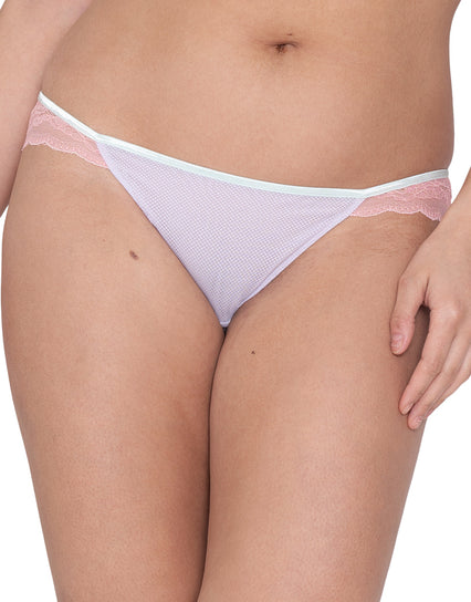 Curvy Kate Flutterby Brazilian Brief Lilac/Pink