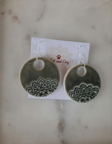 Jealyn Half Mandala Earrings