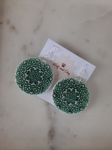 Brea Mandala Earrings