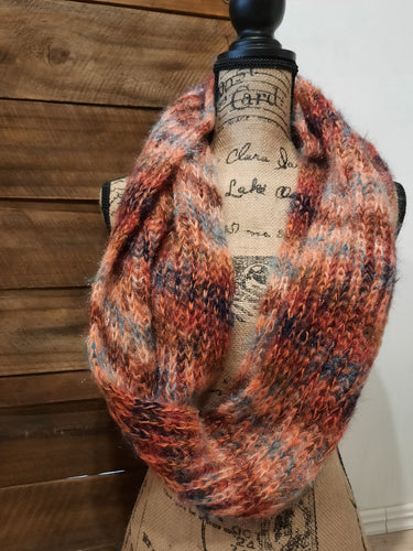 Indian Summer Infinity Scarf