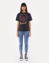 Load image into Gallery viewer, Vintage Rose Tie Tee