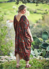 Load image into Gallery viewer, Cold Shoulder Dress in Paisley
