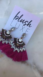 Bella Embellished Earrings