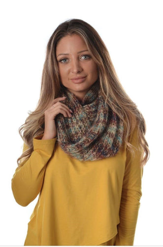 Indian Beige Infinity Scarf