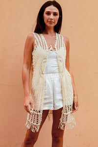 Cream Bella Vest