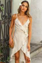Load image into Gallery viewer, Natural Bahama Linen Dress