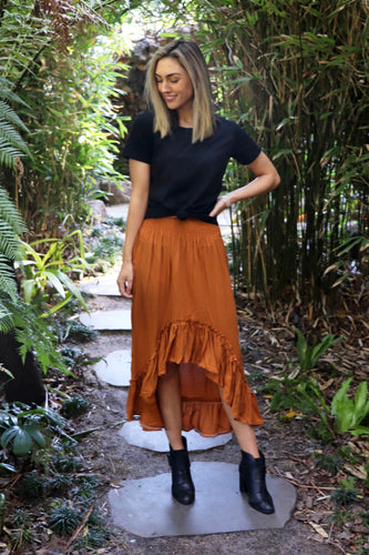 Wild&Free Skirt Rust