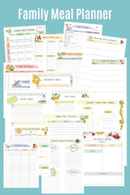 Load image into Gallery viewer, Meal Planning Bundle Printables