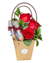 Red Rose Gift Bag (with Mask Spritz)