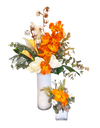 Vanda Orange Botanica (Tall) Artificial Flowers