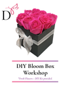 DIY Bloom Box with Fresh Roses *DIY kit provided! (SOLD OUT)