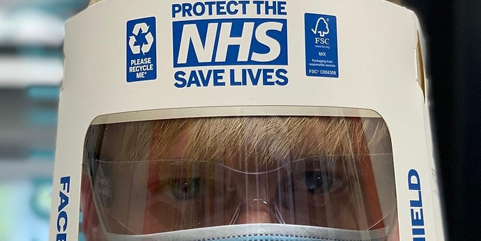 Partnership provides 20,000 recyclable face shields for COVID-19 essential staff