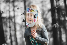 Load image into Gallery viewer, CHILD (UNICORN) DISPOSABLE PPE FACE SHIELD - prestigepkg