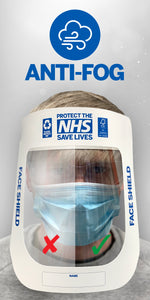 Disposable PPE Face Shield Packs