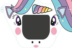 CHILD (UNICORN) DISPOSABLE PPE FACE SHIELD - prestigepkg