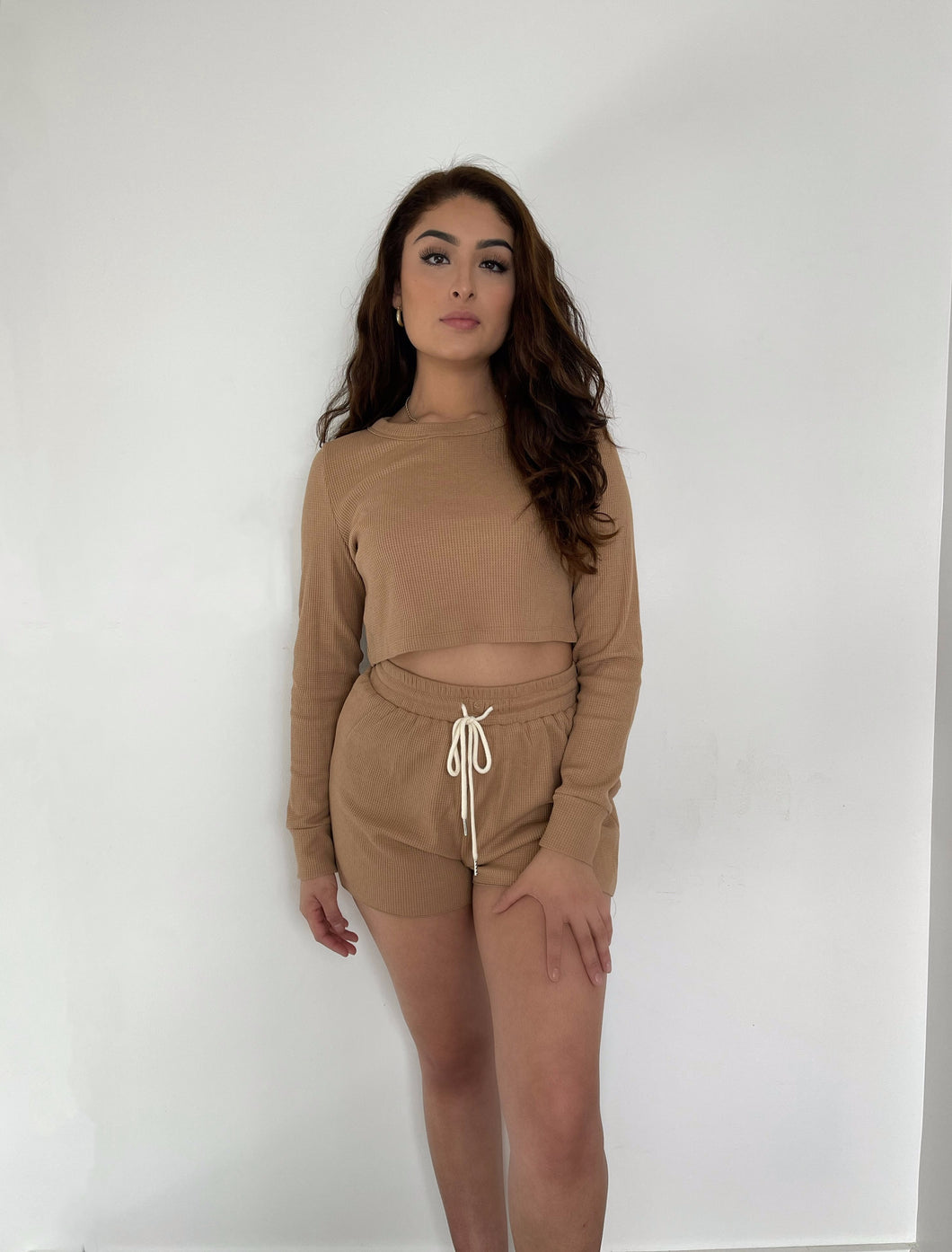 Set for Life Waffle Knit Set