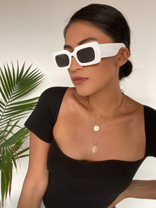 Be Bold Sunglasses White